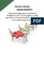 Principles of Mangement