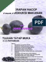 Ppt HACCP Good