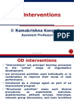 Od Intervention Very Nice Ppt
