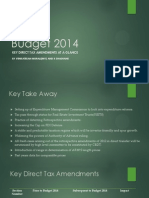 Presentation on Budget 2014 Direct Tax