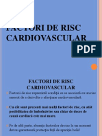 Factorii de Risc Cardiovascular