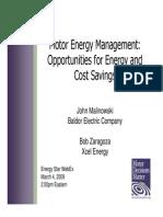 Motor Energy Management