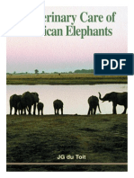 Veterinary Care of African Elephants