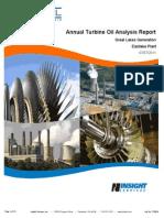 Annual Turbine Report