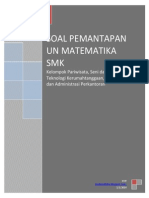 Soal Pemantapan Un Matematika Smk Par