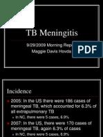 9.29.09 Davis-Hovda TB Meningitis
