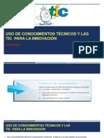 Uso de Conocimientos Técnicos y Las TICs T3