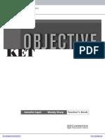 Objective Ket Elementary Teachers Book Frontmatter