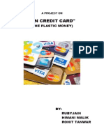 A Project on Credit Card