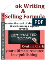 eBook Writing and Selling Formula