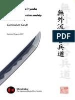 Mugai Ryu Manual