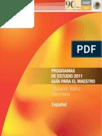 Ahora --- Programa de Español 2011