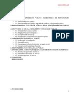 Statutul Functionarului Public in Republica Moldova