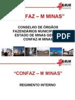 Confaz-M - Regimento Interno