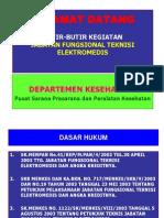 Butir-Butir Kegiatan Jabfung Teknisi Elektromedis
