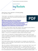 Word Study_ a New Approach to Teaching Spelling _ Reading Rockets