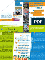 Tract Syndicalisation UNEF 2014 Chaines