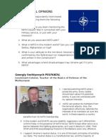 Interviews NATO