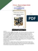 Fernando Pessoa - Huzursuzlugun Kitabi - CepSitesi.net