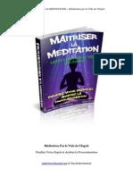 Meditation Par Le Vide de l'Esprit