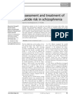 A Ssessment and Treatment of Suicide Risk in Schizophrenia