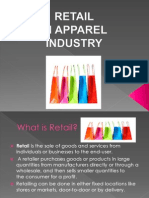 Retail in Apparel Industry..