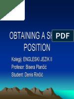 2-5 Obtaining a Ship's Position