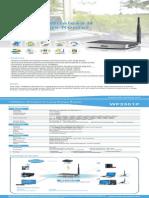 Netis WF250P EU Datasheet V1