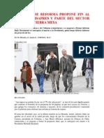 Comisión de Reforma Propone Fin Al Lucro en Isapres