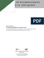 Borel - Probabilite Et Sciences Exactes