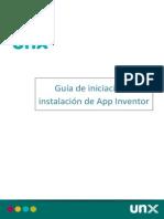 Guia de Iniciación e Instalación de App Inventor_v2