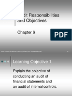 RRChapter06-Audit Responsibilities and Objectives