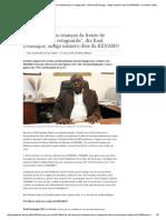 """""""Recolhíamos as Crianças Da Frente de Combate Para a Retaguarda"""", Diz Raul Domingos, Antigo Número Dois Da RENAMO _ Contraste _ DW.de _ 29.09"""