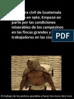 La Guerra Civil de Guatamala