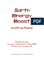 Earth Energy Boost