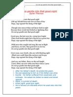 poem of Dylan Thomas.doc