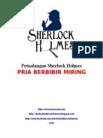 Sherlock Holmes - Pria Berbihir Miring