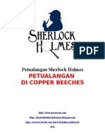 Sherlock Holmes - Petualangan Di Copper Beeches