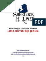 Sherlock Holmes - Lima Butir Biji Jeruk