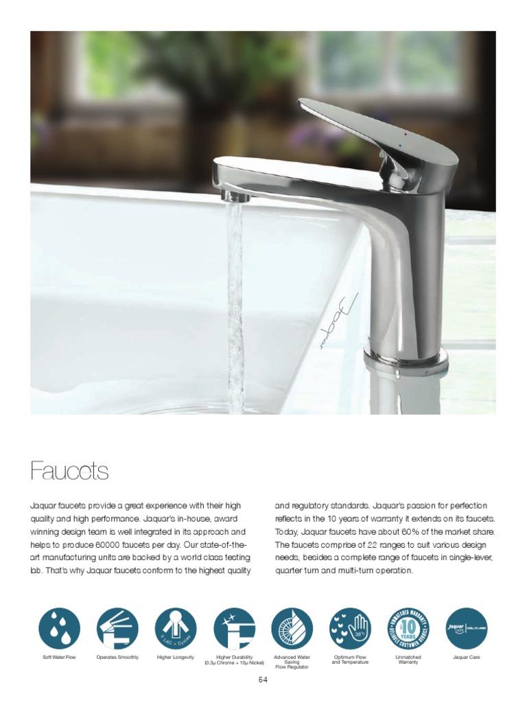 Jaquar Bathroom Fittings Pricelist Tap Valve Hydrology