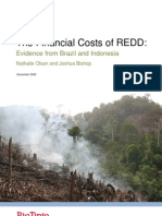 Financial Cost of REDD
