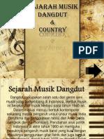 Sejarah Musik Dangdut Dan Country.ppt