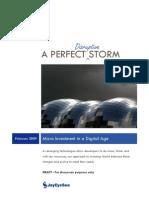 A Perfect (Disruptive) Storm