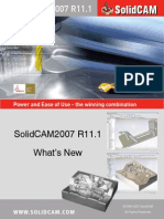 Whats New in SolidCAM2007 R11 1