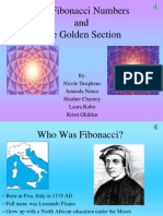 m11 the Fibonacci Numbers and the Golden Sectionp2 Presentation by Nicole