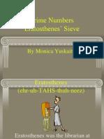 m6 3 Prime Numbers Eratosthenes Sieve