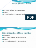 m4a Basic Properties of Real Number