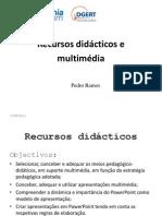 Recursos Didacticos e Multimedia - Curso
