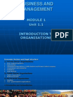 MOB Types of Business Organisations