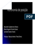 STA Astronomia de Posição